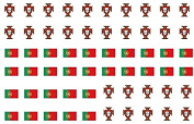 Portugal Fifa Nail Decals Art