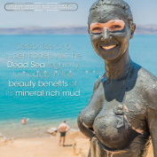 Pure Body Naturals The Best Dead Sea Mud Mask, 250G/ 260ml - Dead Sea Mud Mask Best For Facial Treatment, Minimises Pores, Reduces Wrinkles, And Improves Overall Complexion