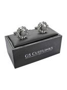 Scotland Scottish Thistle Shirt Cufflinks In GS Cufflinks Box