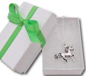 Unicorn necklace in gift box