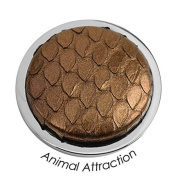 "QUOINS ""ANIMAL ATTRACTION"" QMOT-L. Cabochon Cut Snake Skin/Leather Steel Coin. LARGE (33mm) - Choose From 10 Patterns"