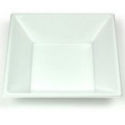 "Finishes Touches Party Store 120 Disposable Plastic White Square Bowls 7""/18Cm Desserts Weddings Bbqs"