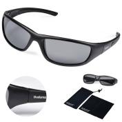 Duduma Tr8116 Polarised Sports Sunglasses for Mens and Womens Design for Ski Baseball Golf Cycling Fishing Running Driving Superlight Frame