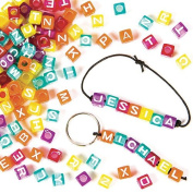 Alphabet Cube Beads Children's Jewellery Making, Personalised Gifts