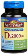 Nature Made Nat Made Vit D-3 2000Iu 250 Sg by Nature Made