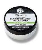 Elvado Shaving Brush Soap, Wild Mint Lime by Elvado