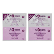 """ApHogee Two-Step Protein Treatment 30ml & Balancing Moisturiser 20ml Packet """"Pack of 5.1cm"""
