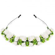Eshion 6 Colours Women's Flower Festival Wedding Floral Hair Band Headband