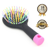 Detangling Hair Brush - Detangle Hair Easily With No Pain - Good For Wet Or Dry Hair - Adults & Kids