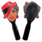 Jacki Design Charming . Flexible Hair Brush Carrie Style - Black