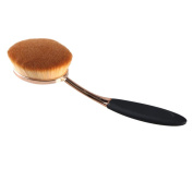 EVERMARKET Big Oval Brush Liquid Cream Foundation Loose Powder Contour Blush