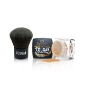 Cougar Beauty Mineral 5-in-1 Foundation ( Natural light 4g) with kabuki brush