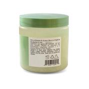 Dead Sea Salt With Eucalyptus & Rose Essential Oil Body Scrub With Dead Sea Salt Minerals