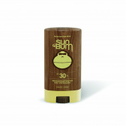 Sun Bum Signature Mineral-Based Moisturising Sunscreen Face Stick, SPF 30-50, .1330ml Stick, Zinc Sunblock, Hypoallergenic, Non-Migrating