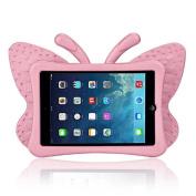 iPad Mini Case, iPad mini 1/2/3 Case ,FUA® 3D Cute Butterfly Heavy Duty Shock EVA Foam Stand Cover For iPad Mini 1/2/3 Kids' Gift