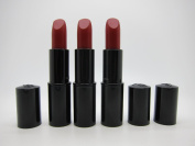 3X Colour Design Lipstick Unboxed Full Size 190 Red Addiction