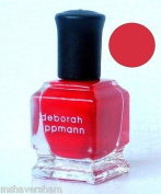 Deborah Lippmann MINI Red Polish IT'S RAINING MEN .27 oz/8 ml