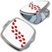 BleuReign(TM) Cute Ladybugs Compact Mirror