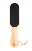 LOUISE MAELYS Dual Sided Wooden Foot Files Callus Remover Hard Skin Pedicure Rasp