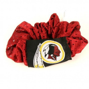 Washington Redskins Maroon Hair Scrunchie - Hair Twist - Ponytail Holder by NFL