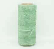MINT 1x0.5mm Flat Waxed Braided Polyester Cord Beading Jewellery Leather Craft Stitching String