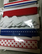 Printed Ribbon Assortment - 4th of July - Style #1