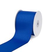 Creative Ideas 7.6cm Solid Grosgrain Ribbon, 25 yd, Royal Blue