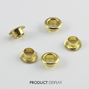 1000piece Craft Metal Gold 5mm Round Sewing Eyelets Sewing Supplies Accessories for Pants Curtain K282