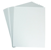 Mat Board Centre, Pack of 10 50cm x 60cm White Foam Core Backing Boards