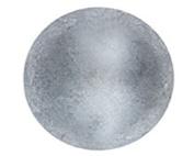 94.6lY: C.S.Osborne & Co. No. 6988-ZPM 5/8 - Zinc Plated Matt Pewter - High Domed / post : 1.6cm head