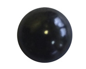 47.3lY: C.S.Osborne & Co. No. 7160-BL 1/2 - Black Lacquered Glossy/ post : 1.3cm head