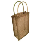Jones International Sinamay Bag Gel Handle Gift Bags (4 ct)