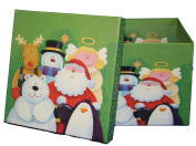 Funny Friends Christmas Gift Box Square (X-Large