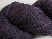 Wool Yarn - Worsted Weight, Naturally Dyed - Dark Grey - By the Yard