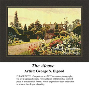 The Alcove, Fine Art Counted Cross Stitch Pattern