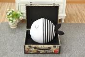 Polka Dot Fish Kiss Pillow Cushion Doll Appease Accompany Sleep Doll Children's Room Decor