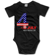 4th Of July For Baby Unisex Bodysuit Romper Jumpsuit Outfits Short Sleeve