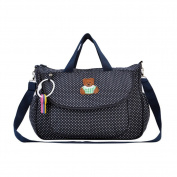 Multifunction Cotton Waterproof 4 Pcs/Set Baby Nappy Nappy Mummy Bag Changing Bottle Holder Handbag Portable Messenger Shoulder Bag