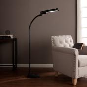 kaley Black Steel And OttLite CFL BulbWilmot Task Floor Lamp