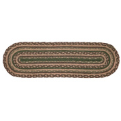Barrington Jute Stair Tread Oval Latex 8.5x27