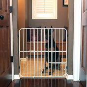 Carlson Extra Tall Tuffy Metal Expandable Pet Gate, Size