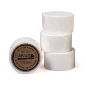 Ship to Shore East Cape Shave Soap, 110ml Round Bar - Classic, Old-fashioned Shave - 100% Vegetable Based Glycerin - Moisturising Shea Butter & Calming Lavender