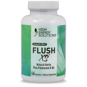 Flush XS Diuretics - Value Sized Bottle 120 Capsules | Natural Diuretic With Potassium Maximum Strength l Flushes Excess Water Loss l GMP - USA - 100% Guarantee