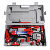 4 Tonne Porta Power Hydraulic Jack Body Frame Repair Kit Auto Shop Tool Heavy Set