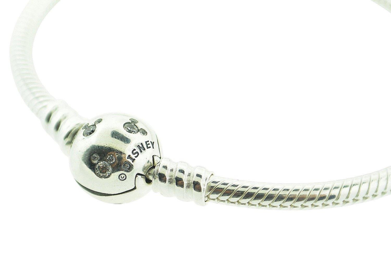 dab45f91d 590731CZ-16 Pandora Sterling Silver Disney Mickey Charm Bracelet ...