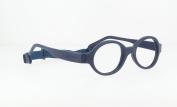 Miraflex Baby Lux2 Kids Eye Glass Frames | 40/14 Navy Blue | Age:5-7
