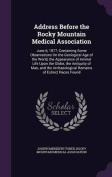 Address Before the Rocky Mountain Medical Association