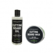 Caron & Doucet - Cutting Board & Butcher Block Bundle