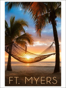 Ft. Myers, Florida - Hammock and Sunset