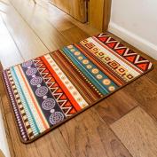 SimpleLife4U Colourful Bohemia Style Welcome Doormat Bathroom Bedroom Kitchen Floor Comfor Mat